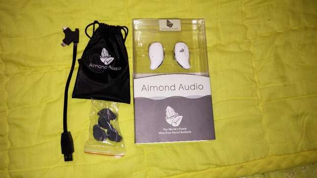 Brand New Almond Audio Wire-Free Stereo Earbuds Ikoyi - image 2