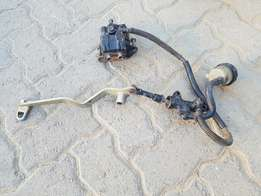 Yamaha Banshee Rear brake system