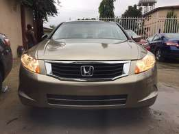 Extra clean foreign used Gold Honda Accord 2009 model