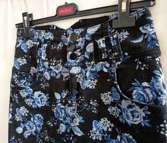 Spódnica w kwiatki H&M DIVIDED S 36 Zdjęcie na imgED