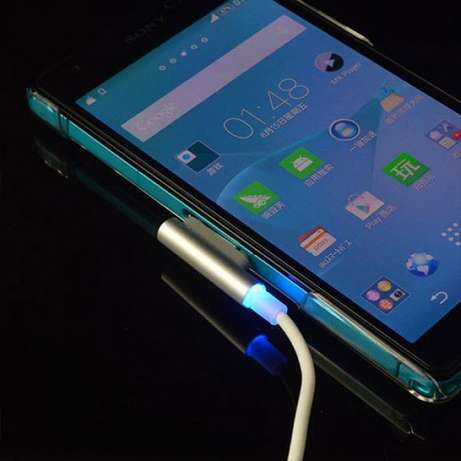 Aluminum Magnetic Charging Cable for Sony Xperia Tablet Z2 Z Ultra Z1f Nairobi CBD - image 1