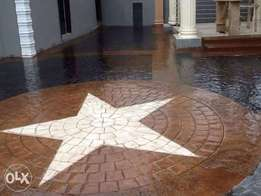 We Specialize in Decorative stamped concrete