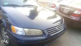 Total camry 1997 green colour And interesting person should call me