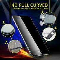 All Iphone 4D glass protectors