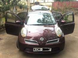 Nissan March Clean Car 2010 Key Less Quick sale Dark interior