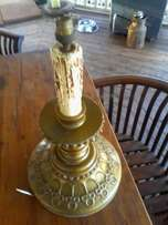 Very old candle lamp. I bought it 40 years back as n project but never