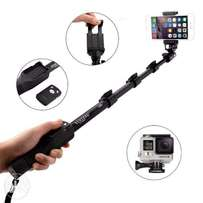Selfie Stick Monopod With Bluetooth Remote Shutter For Phone & Camera