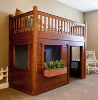 A lovely bunk bed in this design made on order
