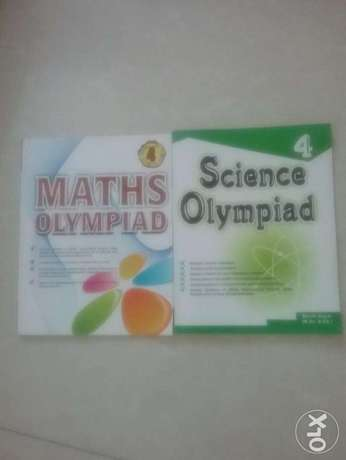 Maths and science olympiad books for class 4