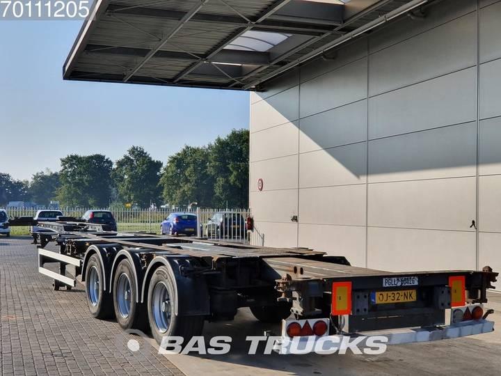 Krone 2x20-1x30-1x40-1x45 ft 3 axles 2x Ausziehbar Extending-Mu... - 2006