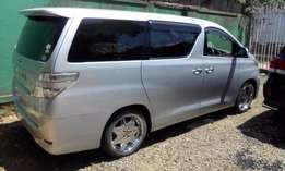 Toyota Vellfire,luxury van,not used locally,Trade-in acceptable