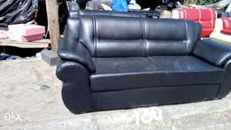 Five seater leather