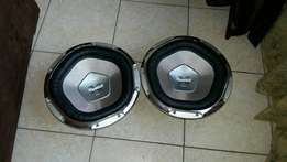 Very rare sony reference range 12 woofers 600rms