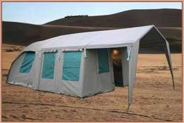 Canvas and tent 3*3 plus extention used 3 times
