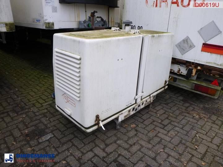 Yanmar / GHH Rand 4TNV88 engine / CG80RD compressor - 2007
