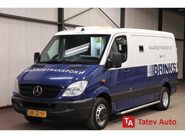 Mercedes-Benz 513CDI geldwagen gepantserd Cash In Transit Armore - 2010