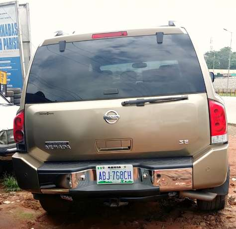EXCELLENTLY Neat, First Body, Factory Fitted Chilling Ac Nissan Armada Onitsha North - image 2