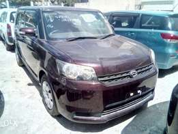 New car: Toyota Rumion: maroon: hire purchase