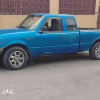 A Nigerian used Ford Ranger 1999 model for sale.