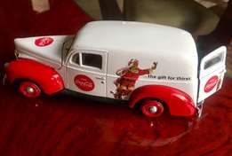 Coca Cola Collectible Large Die Cast 1940 Ford Sudan Van / Car
