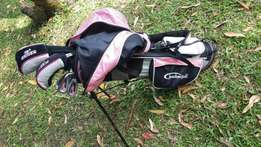 Jnr Girls Fearless golf clubs with bag