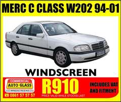Merc Benz windscreen special!