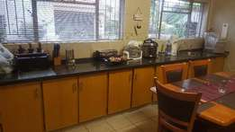 Solid wood kitchen cupboards for sale