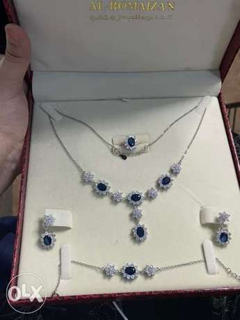 silver jewelry full complete set