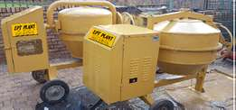 Concrete mixers for hire