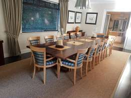 14 seater dining room suite