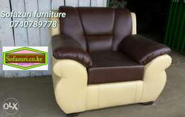 Leather furniture 5 seater