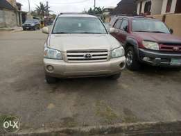 new arrival tokunbo direct highlander Lagos clear buy and used