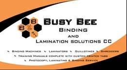 Busy Bee Binding & Lamination Solutions