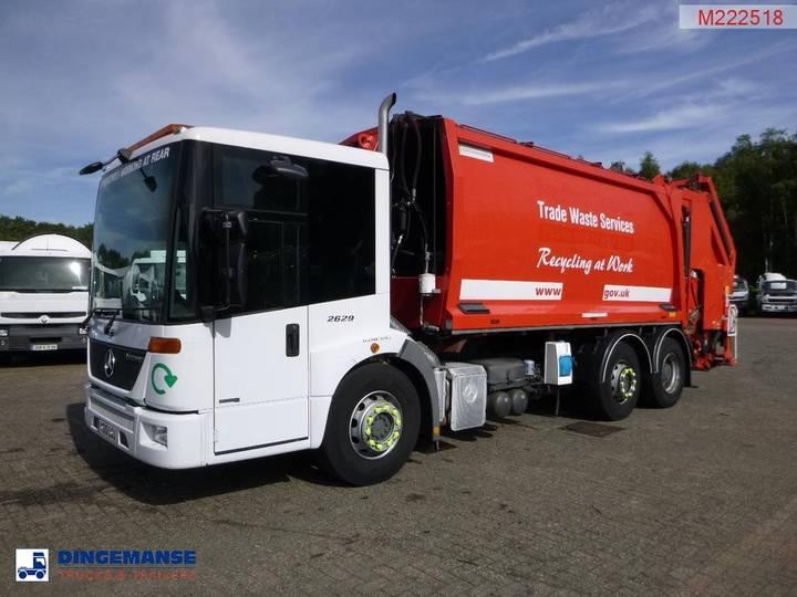 Mercedes-Benz Econic 2629 6x2 RHD refuse truck - 2010