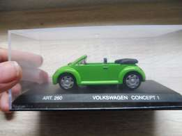 Awesome toy car model Volkswagen Concept I by VW