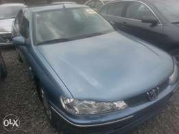 Tincan cleared tokunbo Peugeot 406 manual