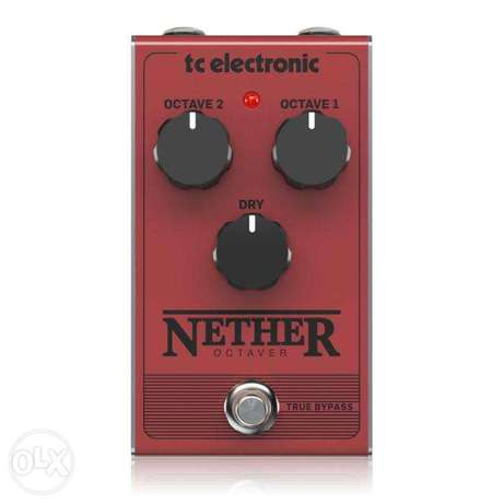 TC Electronic NETHER OCTAVER Classic All-Analog Octave Pedal