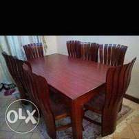 8seater dinning table