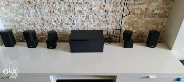 Bose acoustimass 10 with integra amplifier
