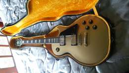 Ibanez les paul gold top