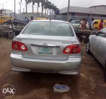 Reg Toyota corolla for sale