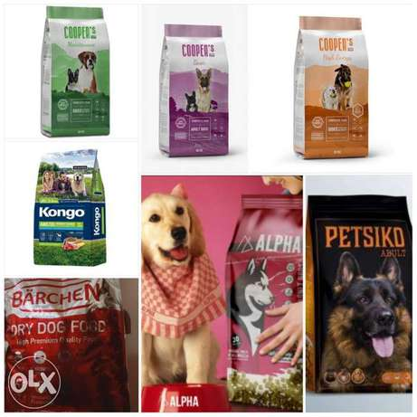 Dry food for dogs