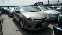 Registered Toyota Corolla LE 2014 Model With Navigation Rev Camera