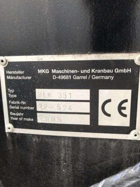 MAN Tga26.480 6x2 Mkg Kran Hlk351 A6 - 2005 - image 10