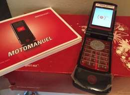 Limited Edition Brand New MOTOROLA KRZR K1 in box BLACK & RED
