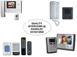 High quality Intercom systems at Danielec