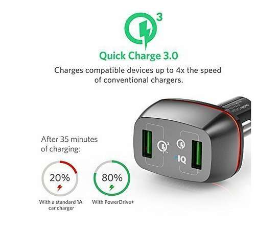ANKER USB charger Powerdrive+. Quick Charge 3. Premium 2-Port USB Mombasa Island - image 3