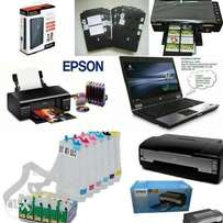 3in1 commercial printer. It can print photos, plastic it's, CD, docume