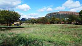 1.8 Hectre plot with duet apartment and lock-up garages for sale