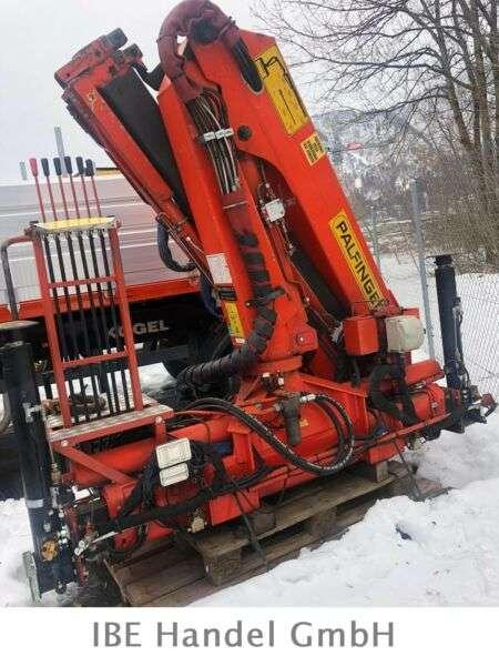 Palfinger Pk8200 A, 11.70m, Max. 3150kg - 1992